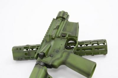 Custom Green Battleworn