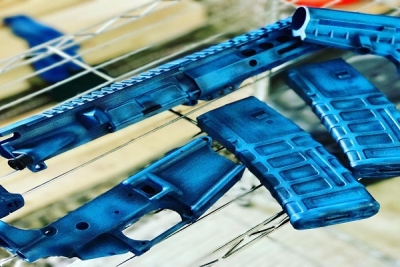 Custom Mix Blue Battleworn