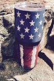 Distressed Flag Tumbler